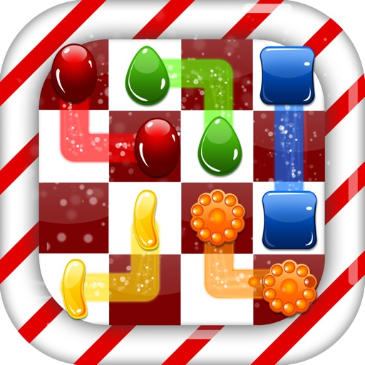 Christmas Flow Free Game - Play Classic Puzzle Dots Connect Draw Line & Link Logic Path Games