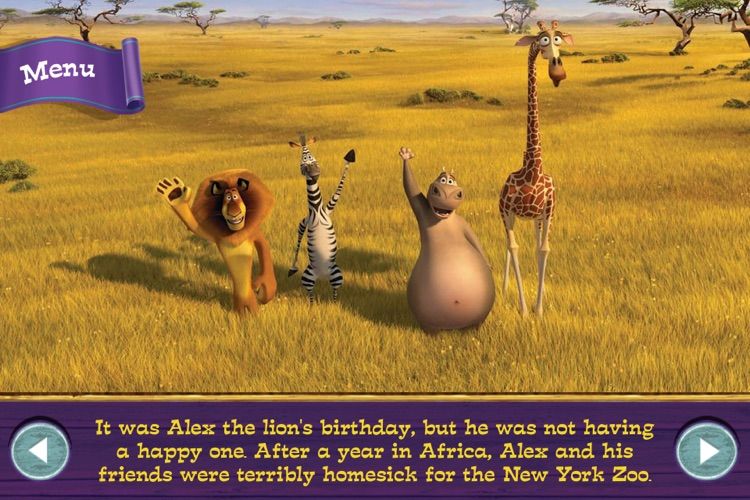 Madagascar 3 Movie Storybook Deluxe screenshot-1