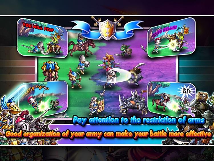 Empire VS Orcs HD screenshot-4