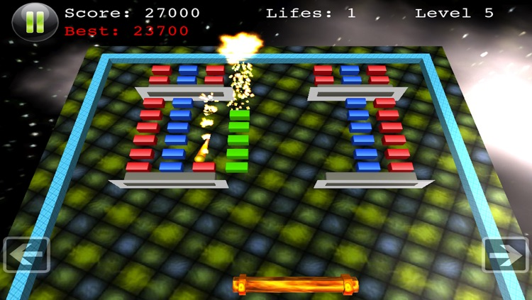 Block Smasher - Top Board Action Arcade Fun Brick Breaker 3D Breakout Free Game screenshot-4