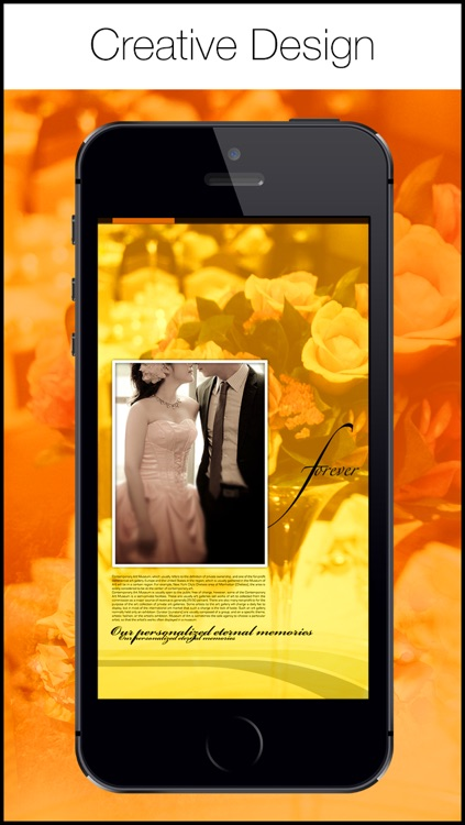 Wedding Frame 360 - Best wedding graphic Design App For Creative People screenshot-4