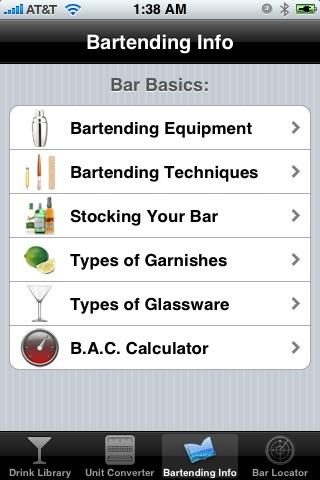 Drink & Cocktail Pro screenshot1