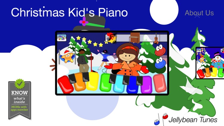 Christmas Kid's Piano - Festive Songs, Carols and Sounds of the Season
