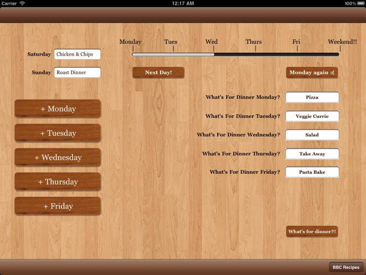 Meal Planner screenshot-0
