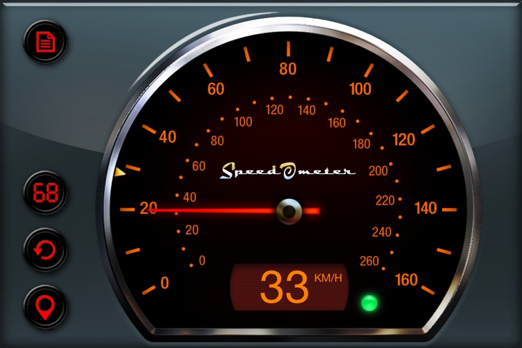 Gigantic Speedometer HD