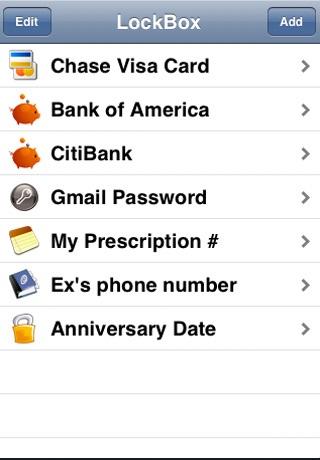 LockBox screenshot-3