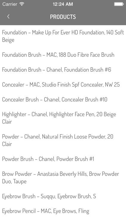 Make-Up Tutorials by Simona Antonovic screenshot-3