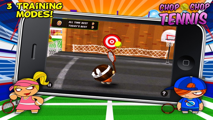 Chop Chop Tennis screenshot-2