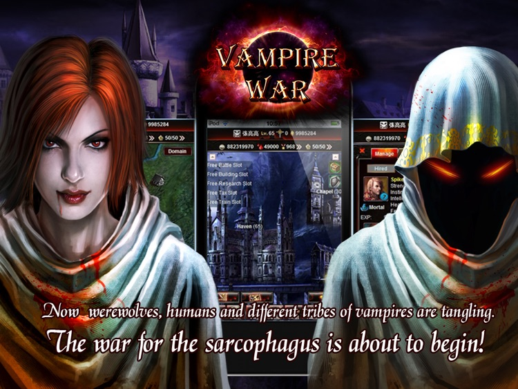 Vampire War - HD screenshot-4