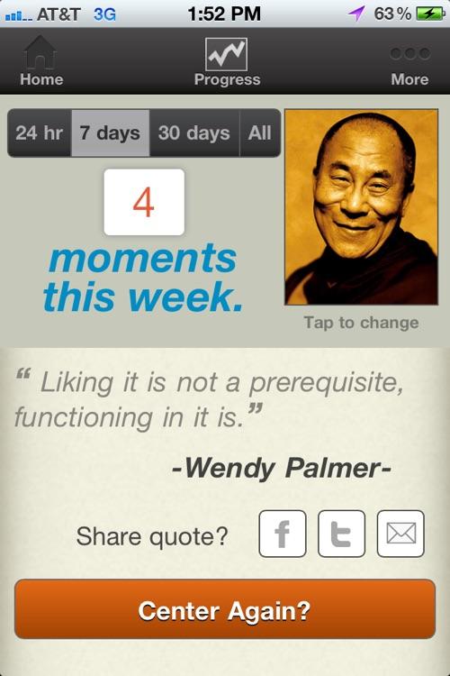 Centering Practice - Leadership Embodiment screenshot-4