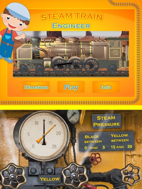 Steam Train Engineer