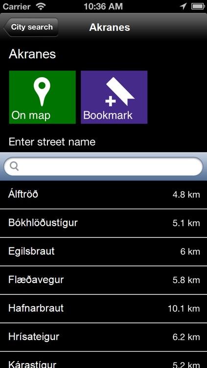 Offline Iceland Map - World Offline Maps screenshot-4