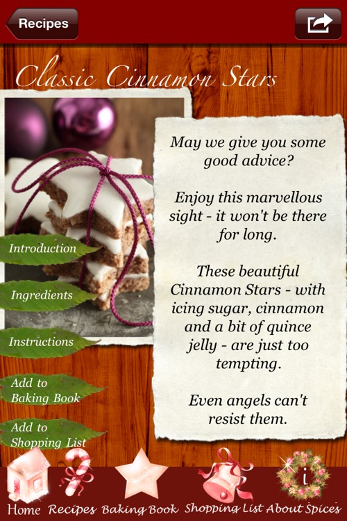 Christmas Cookies - Heavenly Recipes Baked by Angels