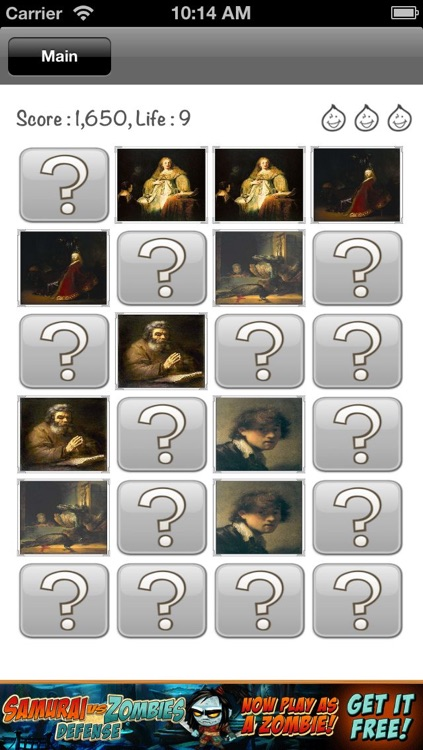 Rembrandt Gallery & Puzzle screenshot-2