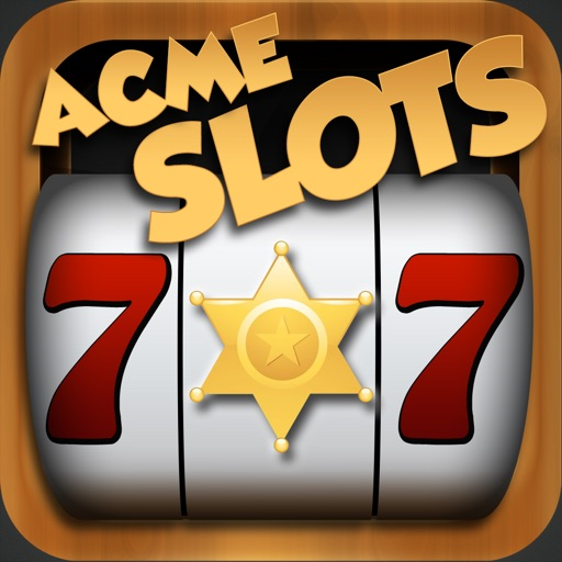 Acme Slots Machine - Saloon Wildhorse Spin Shot Edition with Prize Wheel, Black Jack & Roulette Games icon