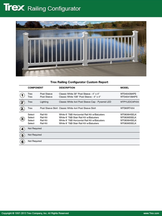 Trex Decking and Railing Visualizer Tool – visualize your Trex dream deck and outdoor living space! screenshot-3