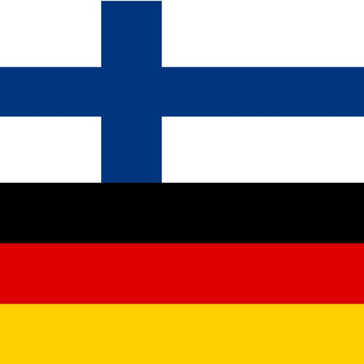 Finnish - German - Finnish dictionary icon