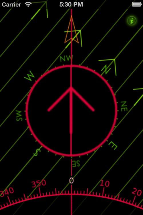 Orienteering Compass screenshot-3