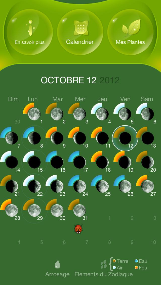 Screenshot #1 pour Jardiner Avec La Lune