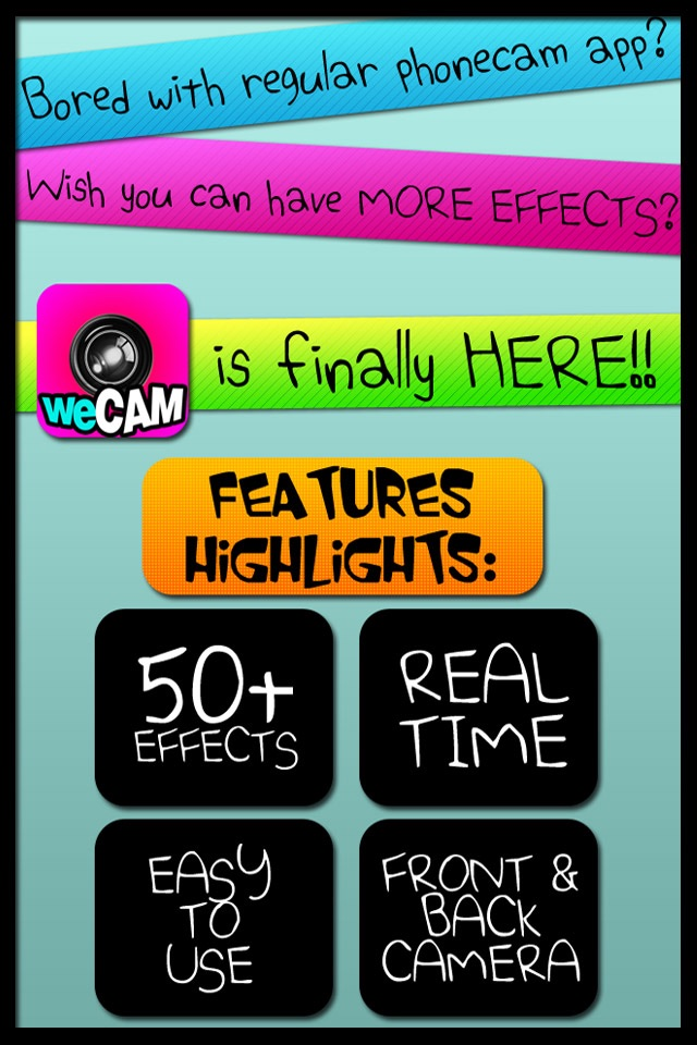 weCAM Screenshot