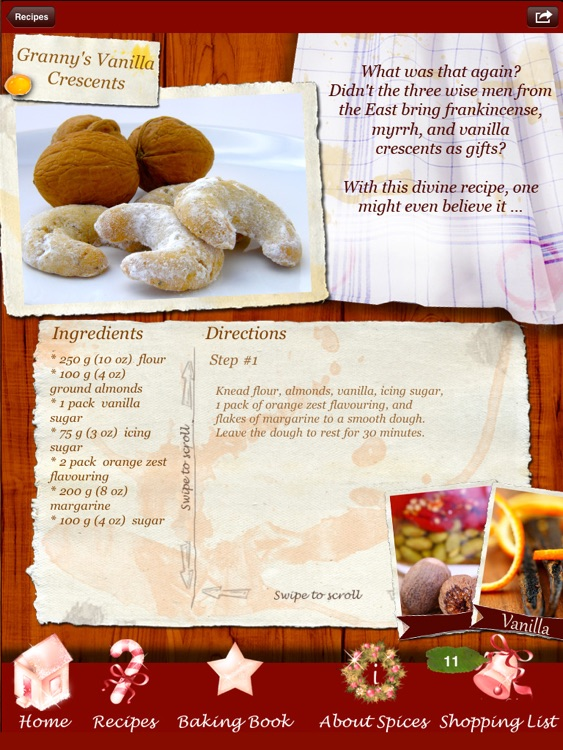 Christmas Cookies - Heavenly Holiday Recipes Made by Angels!