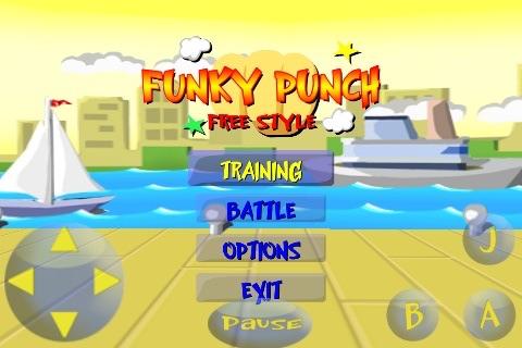 FUNKY PUNCH: Free Style screenshot-3