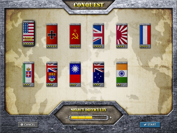 World Conqueror 1945 for iPad screenshot-3