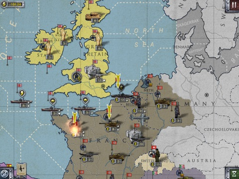 Игра European War 2 Lite for iPad