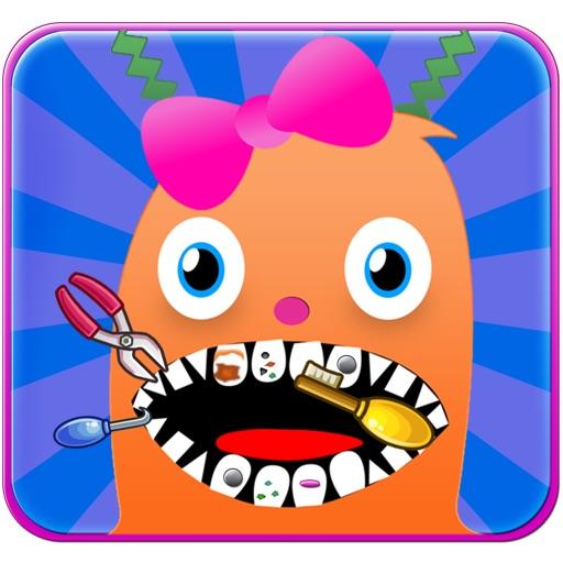 Crazy Alien Dentist Office - fun kids games