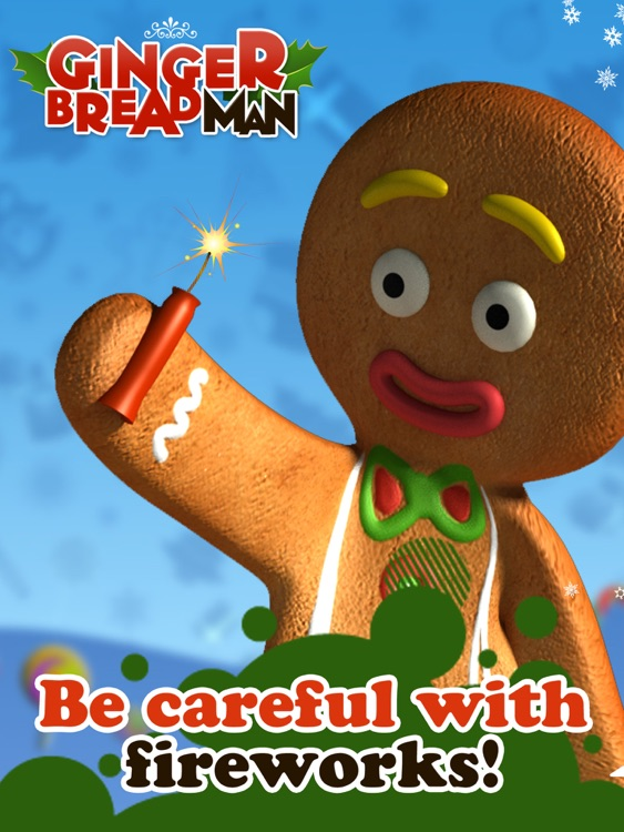 Talking Gingerbread Man HD screenshot-3