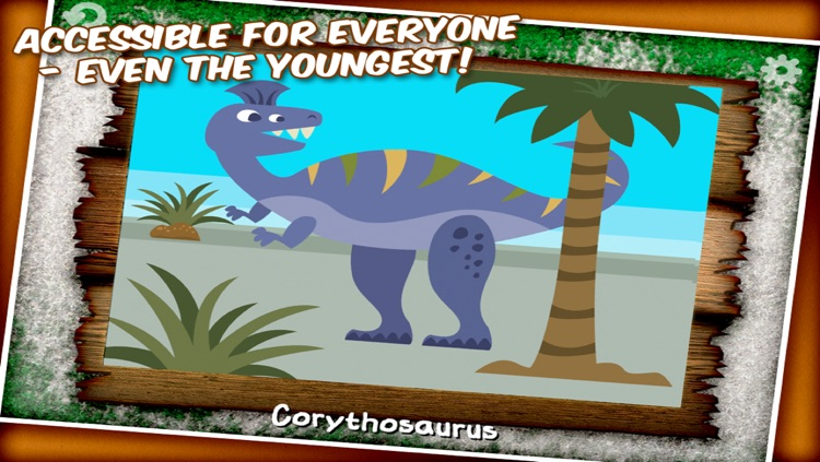 Dinosaur Jigsaw Puzzle - a game for kids with cool dinosaurs screenshot-3