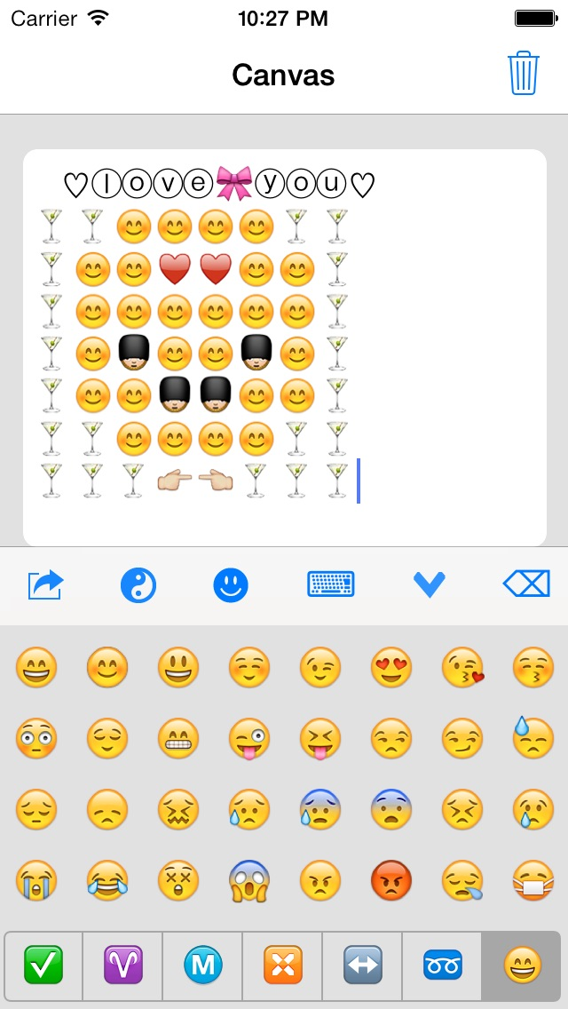 Emoji Keyboard 2 Smiley Animations Icons Art New Hotpop