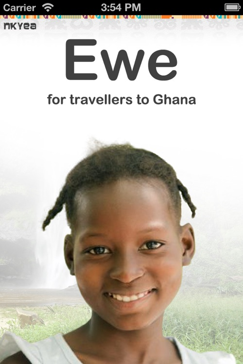 Ewe for travellers to Ghana