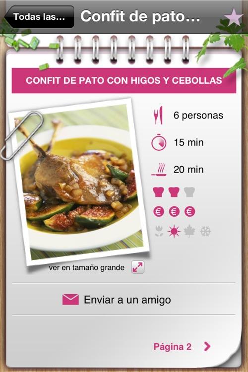 101 recetas de cocina screenshot-3