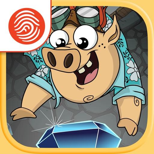 Bungee Pigs - A Fingerprint Network App