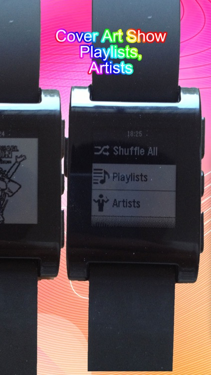 Music for Pebble Smartwatch: Remote Song Control and View screenshot-2