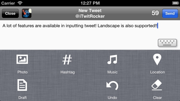TwitRocker2 Lite for iPhone - twitter client for the next generation screenshot-4