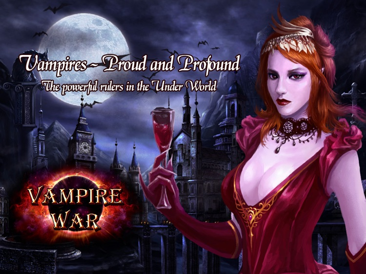 Vampire War - HD screenshot-0