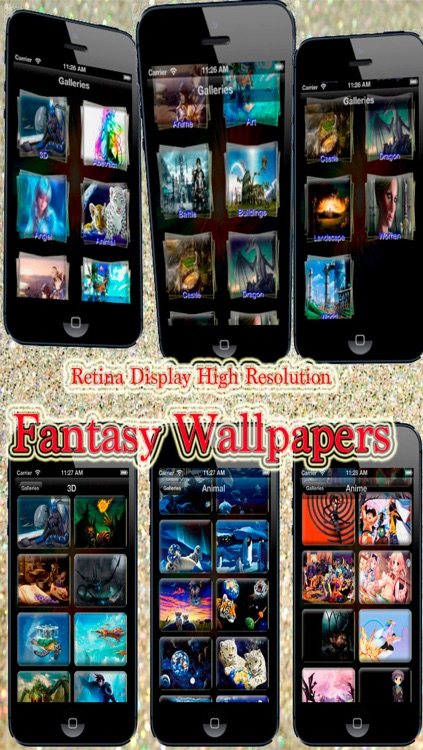 Fantasy Backgrounds for iPhone, iPad and iPod touch