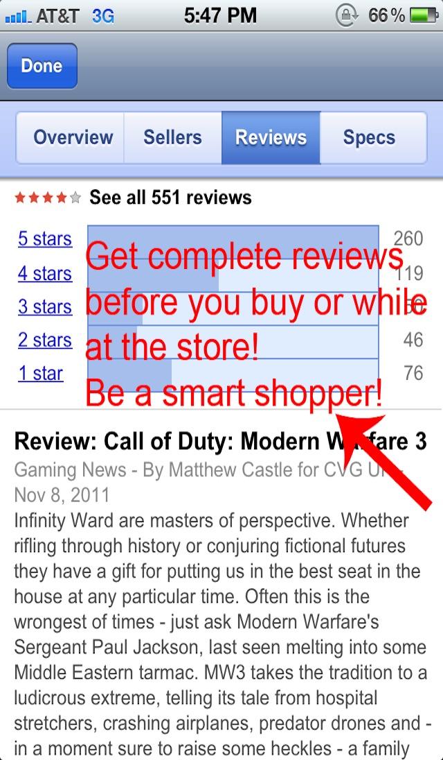 Barcode Scanner Shopping - Price Check Screenshot