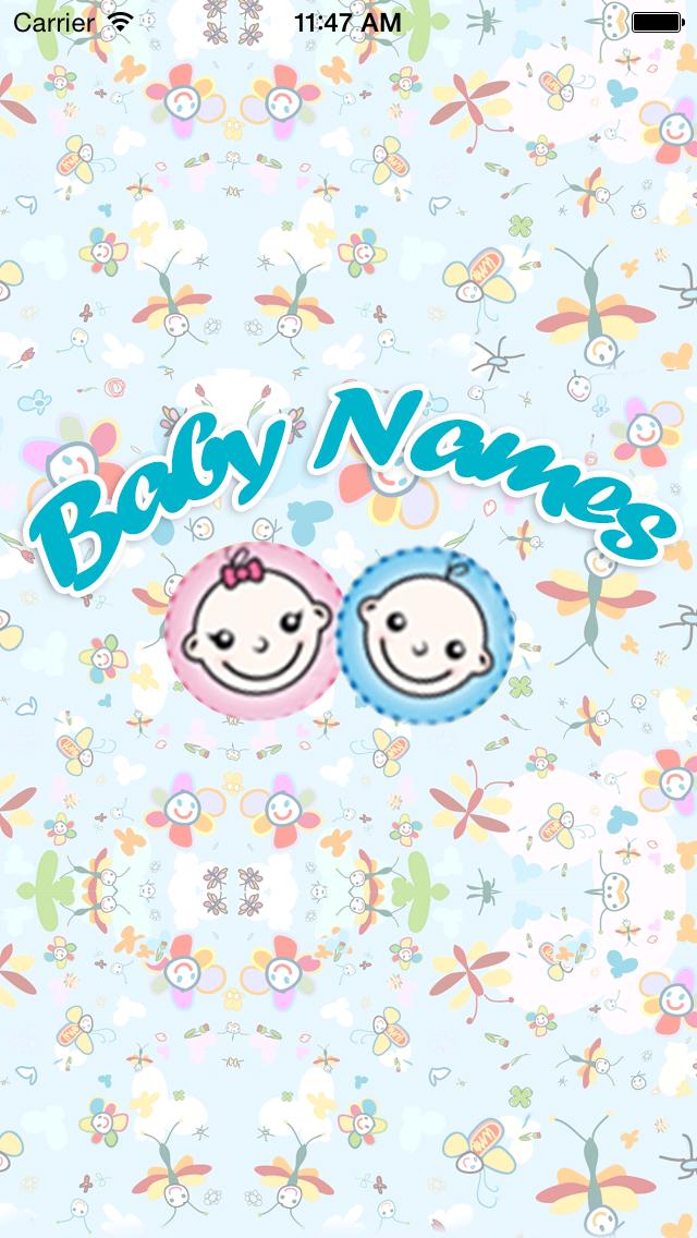 Baby Names.. screenshot one
