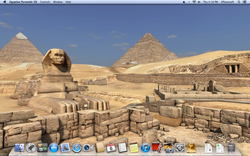 Egyptian Pyramids 3D Screenshot