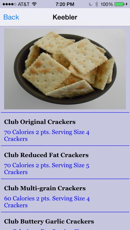 Calories in Alcohol and Snacks screenshot-3