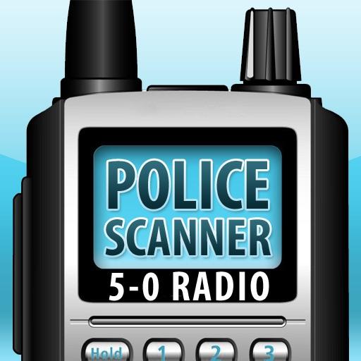 5-0 Radio HD Police Scanner (Free Bonus: HiDef Radio included) icon