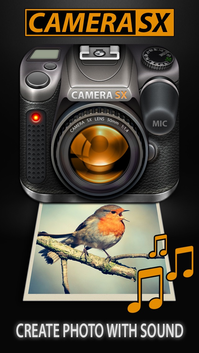 Camera SX : Photo with Sound
