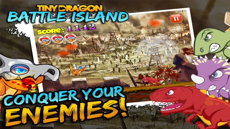 Tiny Dragon Battle Islands: Heroes vs Monsters, Evolution of a Hero in a Major Action Mayhem unleashed on the Devious & Shattered Island screenshot-4