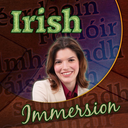 Irish Immersion - Learn to Speak & Talk Fast! Easy to Play Games, Quick Phrases & Essential Words