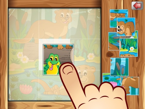 Amusing Kids Puzzles - cute scenes for kids, toddlers and families-ipad-2