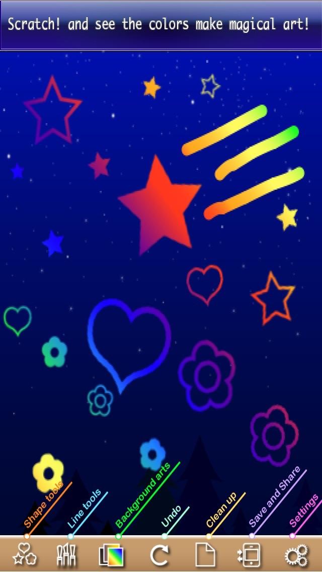 Art App - Ultimate Scratch Freeのおすすめ画像2
