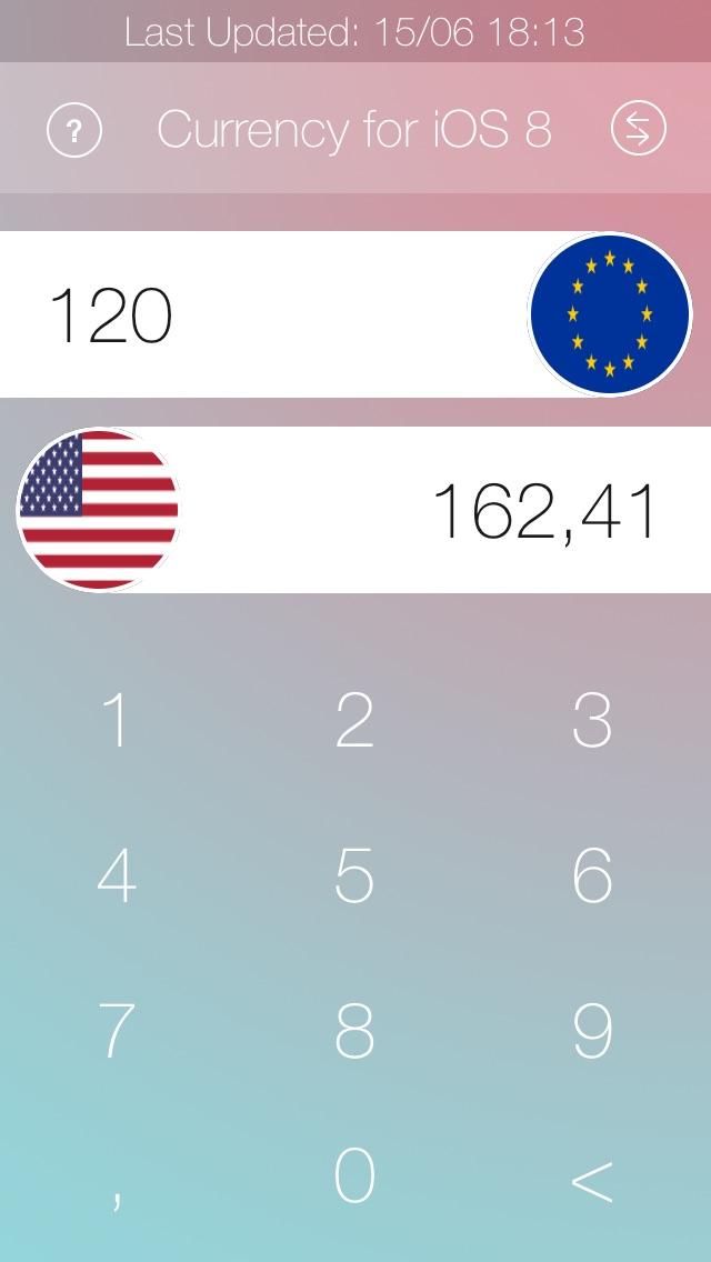 通貨のコンバーター iOS 8 | 日本人のスクリーンショット2